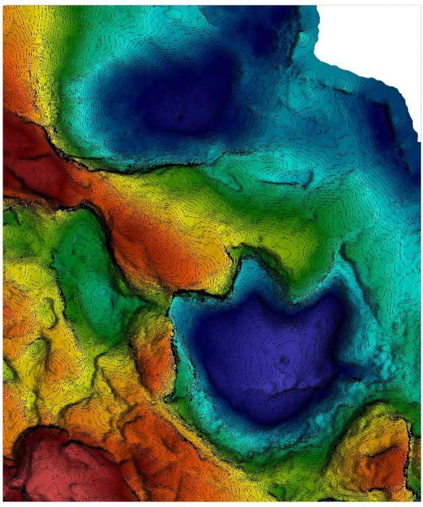 Colour ramp image of Luluichnus mueckei