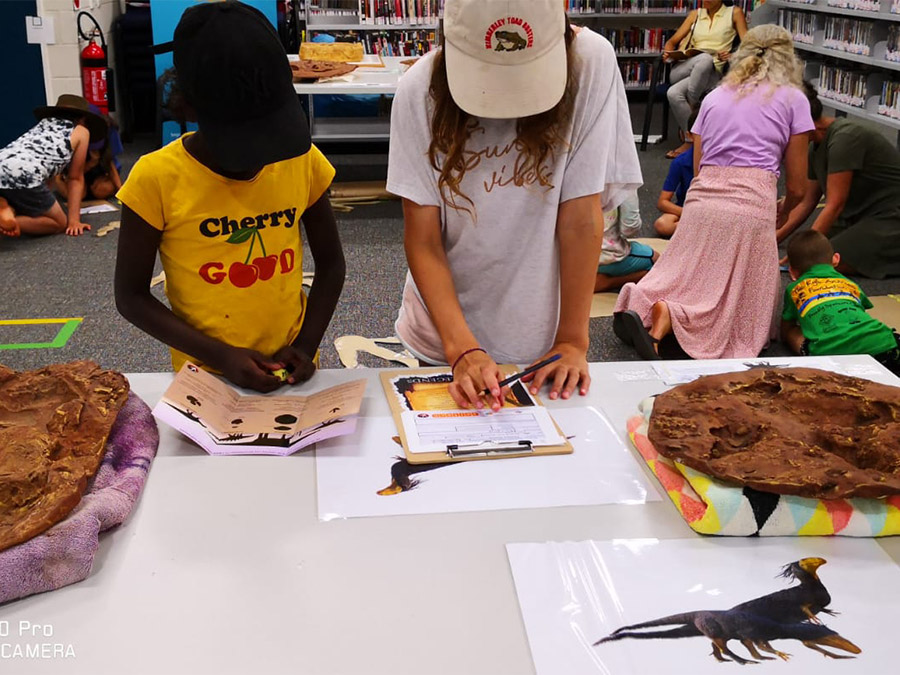 School Holidays Dinosaur Immersion at the Broome Library